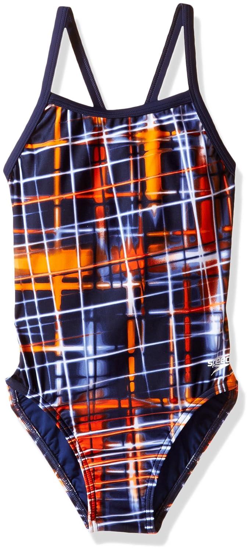 定番  Speedo Girls Powerflex Size EcoレーザーSticksパルスBack Powerflex Swimsuit B01G74VV78 ネイビー/オレンジ 6/22 Size 6/22 Size 6/22 ネイビー/オレンジ, メンズカジュアル通販MC-エムシー:ee9ad940 --- svecha37.ru