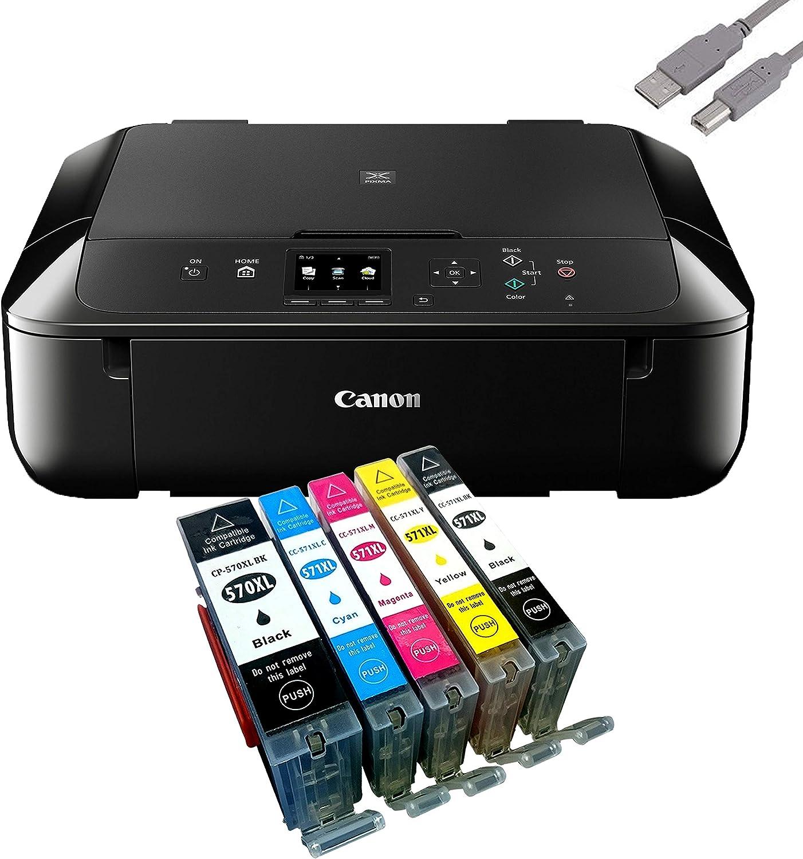 Canon Pixma Mg5750 Multifunktionsgerät Schwarz Mit Usb Computer Zubehör