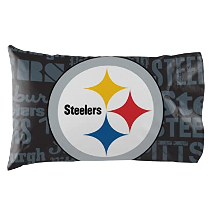 Pittsburgh Steelers   Set Of 2 Pillowcases   NFL Football Bedroom  Accessories