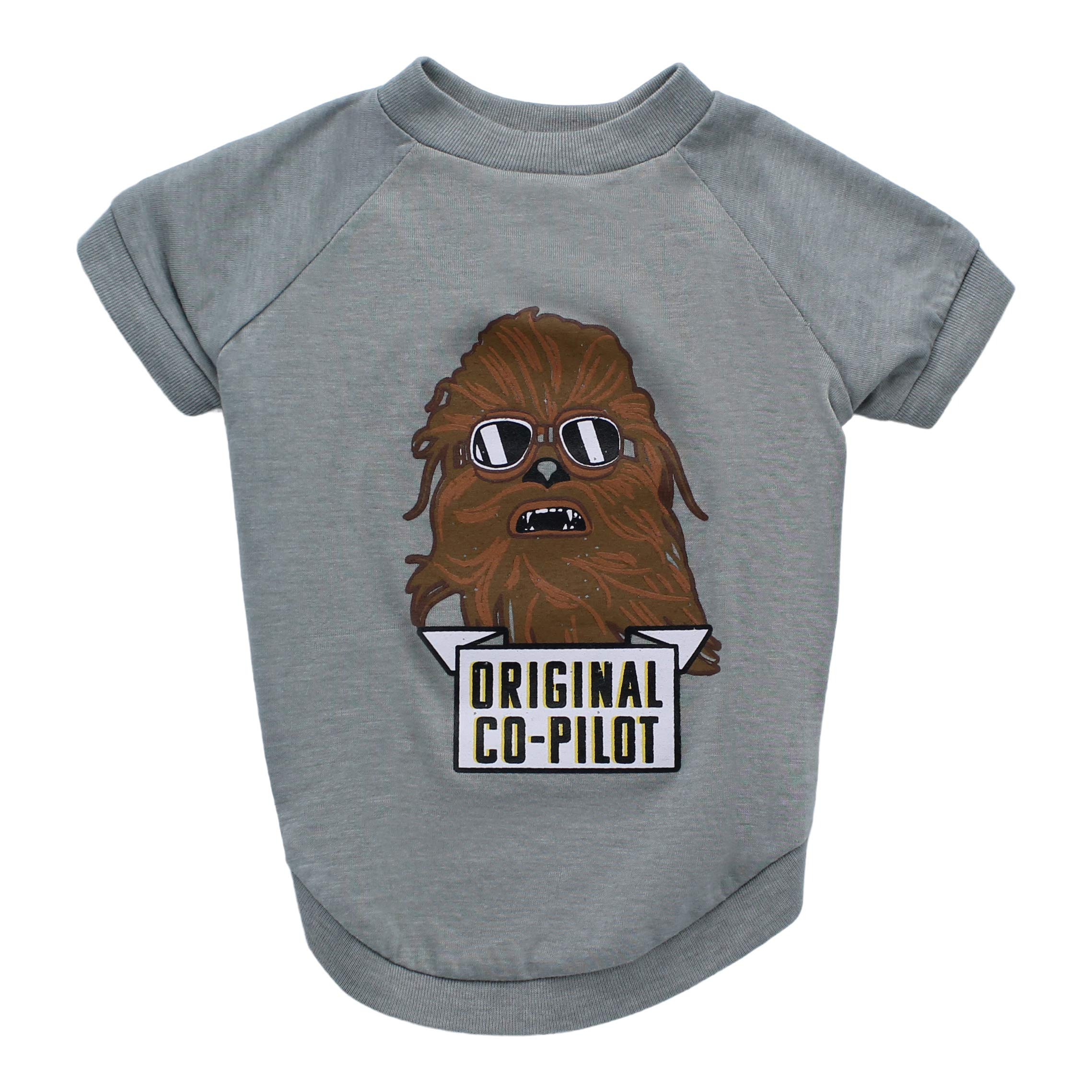 Star Wars Chewbacca Original Co-Pilot Dog Tee | Star Wars Dog Shirt for Small Dogs | X-Small by Star Wars for Pets