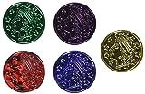 Plastic Coins (asstd colors)    (100/Pkg)