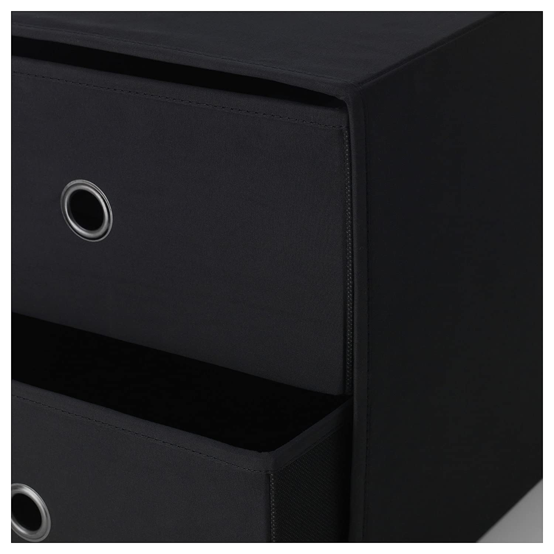 IKEA FLARRA Mini chest with 2 drawers Black