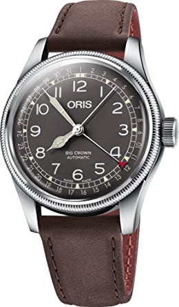 98e19585bf0 Image Unavailable. Image not available for. Color  Oris Big Crown Pointer  Date ...