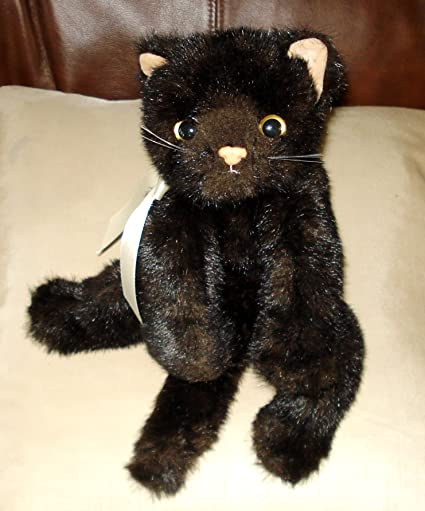 Image Unavailable. Image not available for. Color  Ty Beanie Baby Classic  Purrecious 2002 Plush Black Cat Kitty 3d1c86ea13ee
