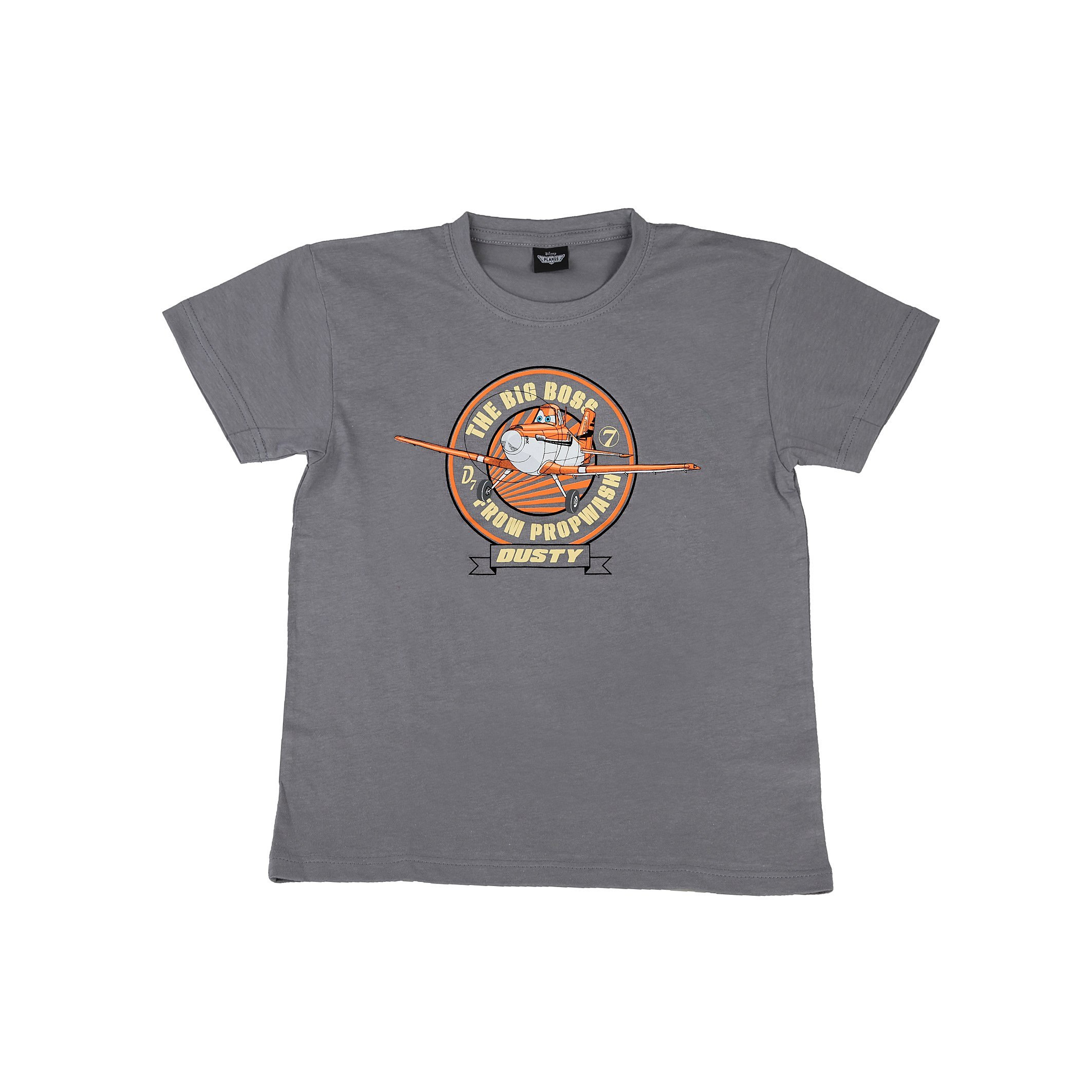 Planes Novelty Dusty Gray Pressed T Shirt 5005