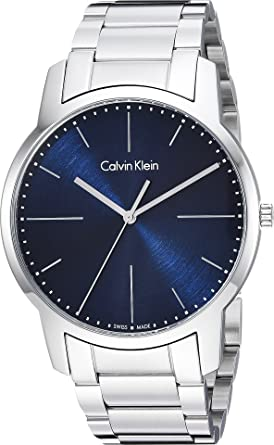673d80edda9 Amazon.com  Calvin Klein Mens City Watch - K2G2G1ZN Blue Silver One ...