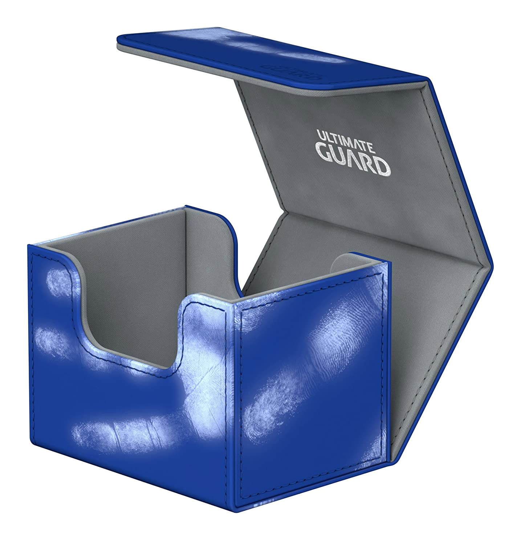 Ultimate Guard Deck Box Sidewinder 100 ChromiaSkin Petrol Blue UGD010866