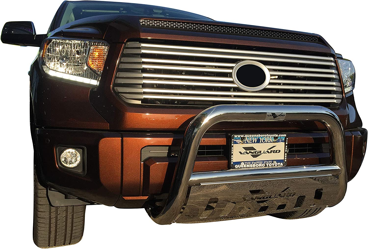 VGUBG-0453SS Stainless Steel Multi-fit Wide Bull Bar