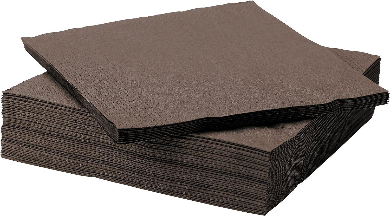 20/x 20/x 5/cm//–/Pack of 50/Units Ikea FANTASTISK Paper Napkin Paper/ /Yellow