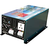 20000W Peak 5000W LF Pure Sine Wave Power Inverter DC 12V to AC 110V, with 80A BC/UPS / LCD Display