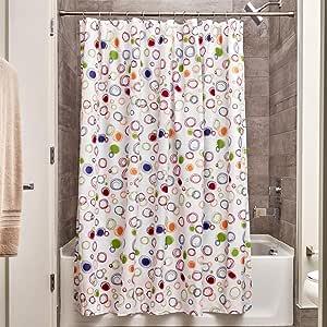 InterDesign37520ESNovelty PolyFabric Shower Curtain,