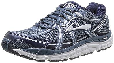 Brooks Men's Addiction¿ 11 Storm/Peacoat/Silver Athletic Shoe