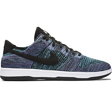 577bc090ad2 Nike Men s Dunk Flyknit Blue Violet White 917746-005 (Size  8.5