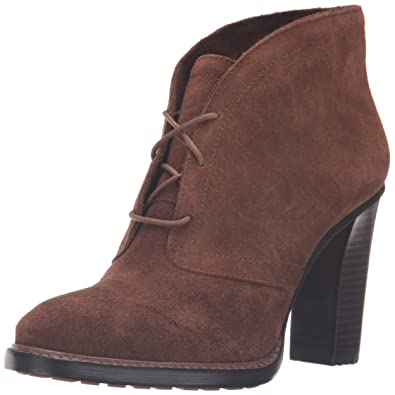 Vince Camuto Women's Lehanna Ankle Bootie, Show Down Brown, ...