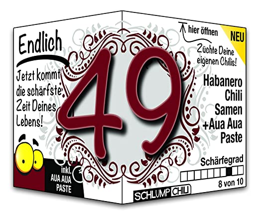 Endlich 49 Das Witzige Scharfe Geburtstagsgeschenk Fur Manner Und