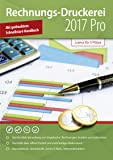 Rechnungsdruckerei 2017 PRO - Rechnungsprogramm, Verwaltung von Angebote, Lieferscheine, Rechnungen, Gutschriften, Statistiken, Kunden und Lieferanten für Windows 10,8.1, 7, Vista und XP (keine zeitliche Begrenzung)