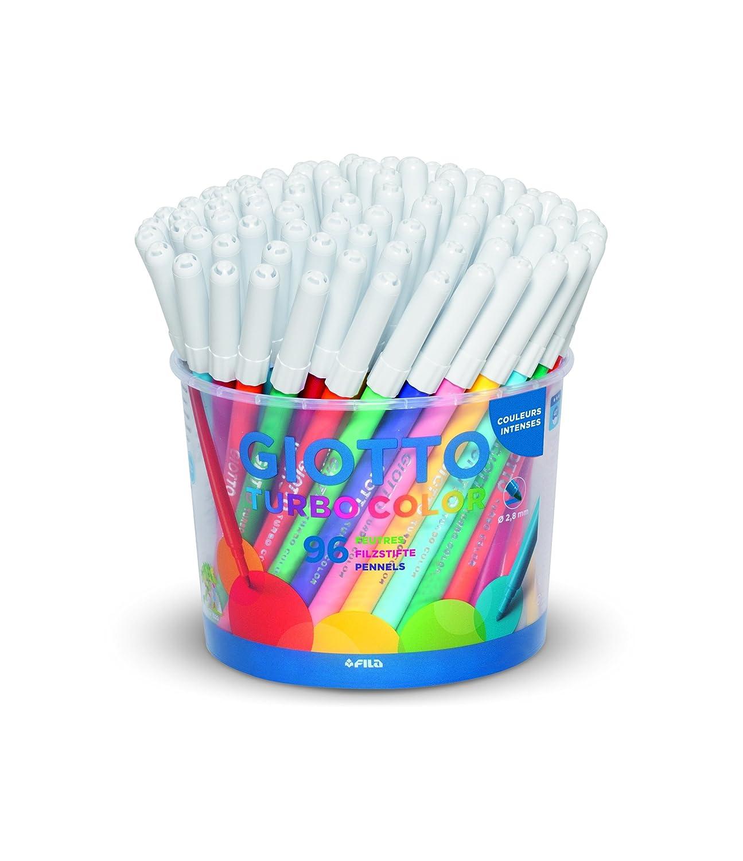Turbo Color Faserschreiber Gro/ßpackung mit 96 Faserschreibern Giotto 5215 00