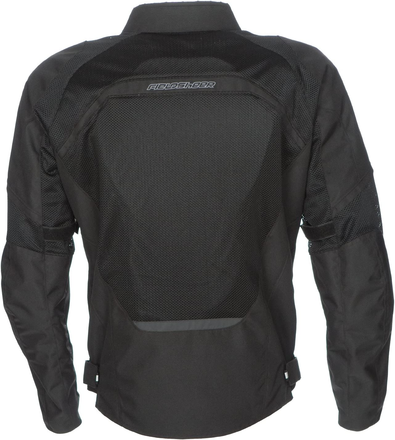 Black, Medium Fieldsheer Mens Hi-Flow Mesh Jacket