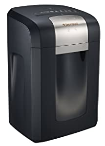 Bonsaii EverShred Pro 3S23 Heavy duty 14-Sheet Cross-Cut Paper/CD/Credit Card Shredder, 6 Gallons Wastebasket with 4 Casters and 120 Minutes Running Time, Black