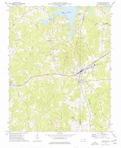 Amazon Com North Carolina Maps 1973 Littleton Nc Usgs Historical