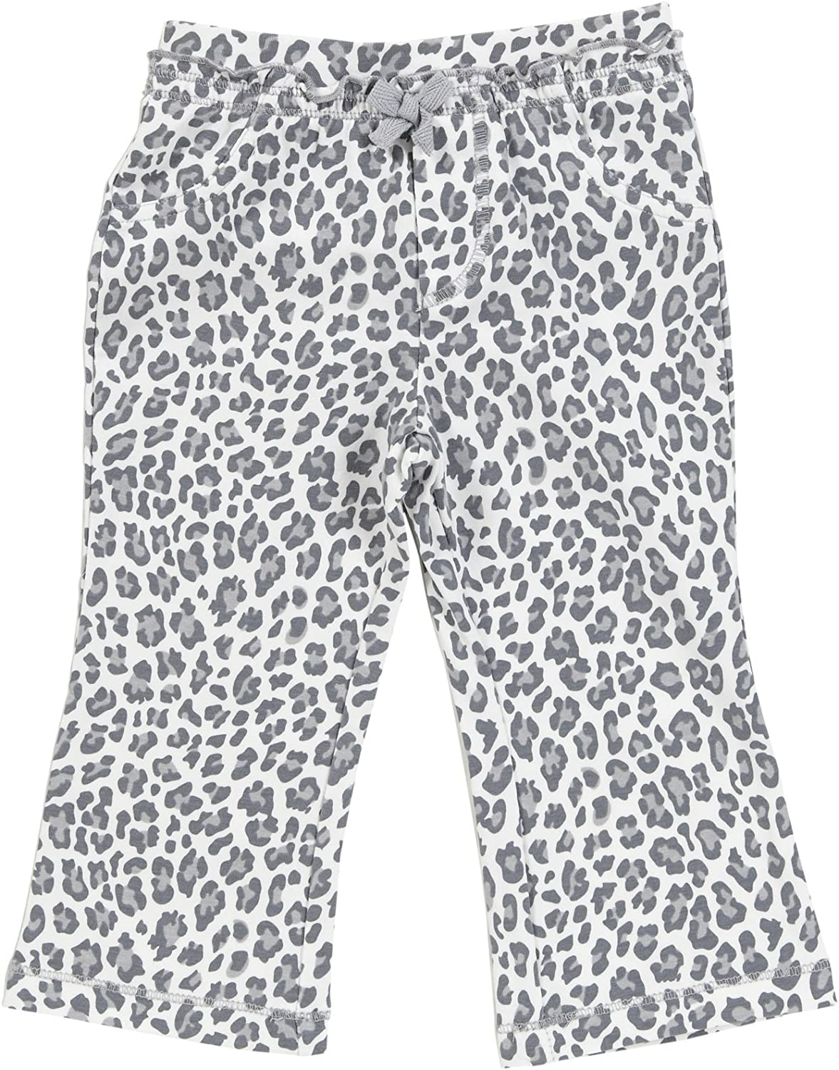 Carters Baby Girls Infant Bootcut Knit Pant Leopard Print