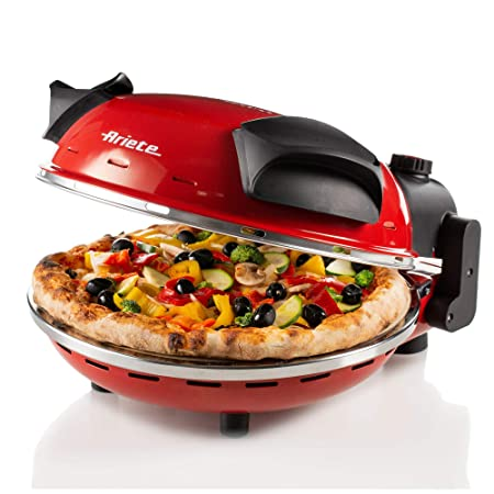 Ariete 909 - Mini horno para pizza en 4 minutos, 1200 W, 5 niveles ...