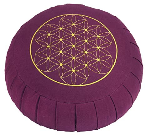 Bodhi Yoga ZAFU BASIC - Cojín para meditación, 17 x 32 cm ...