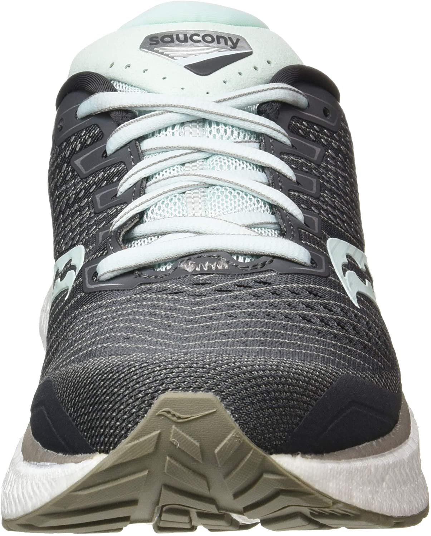   Saucony Women's Jogging Trail Running Shoe, Charcoal Sky, 10 UK   Trail Running