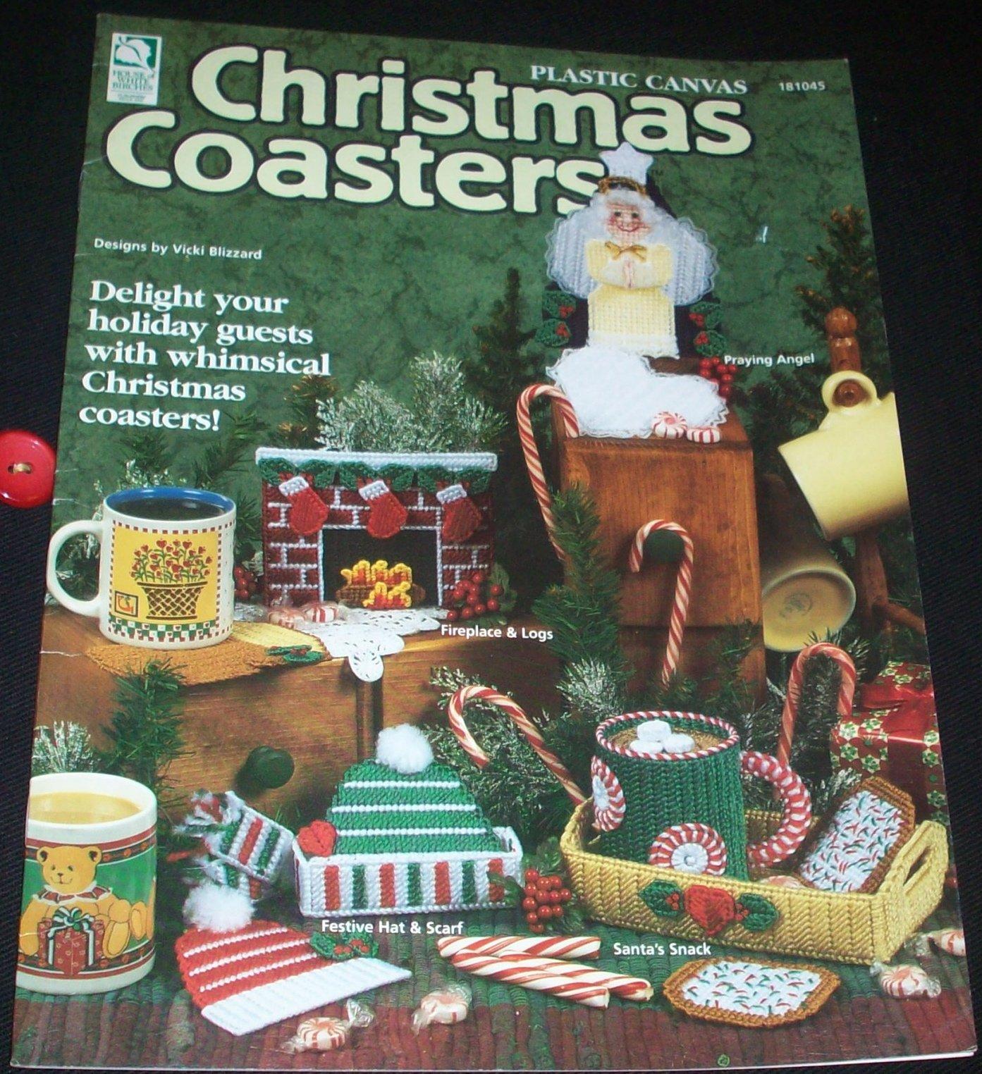 Plastic Canvas Christmas Coaster Patterns.Plastic Canvas Christmas Coasters 181045 Vicki Blizzard