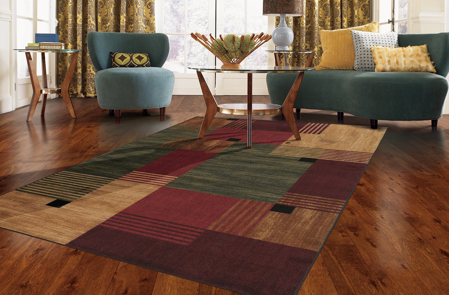 Mohawk Home New Wave Alliance Multi Rug, 2' x 5'