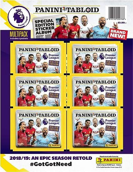 PANINI Tabloid Premier League Autocollants 2018//19