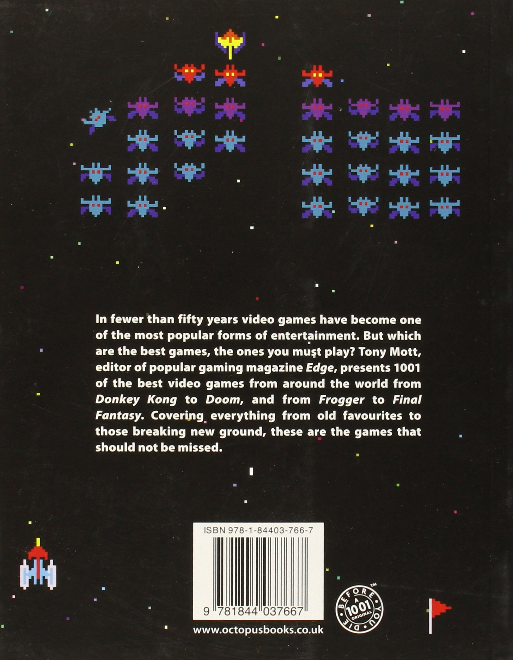 1001 Video Games You Must Play Before You Die: Amazon.co.uk: Tony Mott:  0001844037665: Books