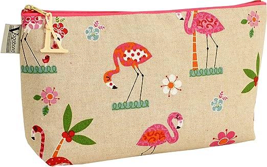 Vagabond Florence Flamingo Handled Bag Trousse de toilette, 26 cm, (Multicolor)