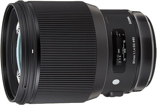 Sigma F1.4 DG AF HSM Art - Objetivo para cámara para réflex (85 mm ...