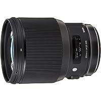 Sigma 4321954 85mm f/1.4 DG HSM Art Lens for Canon, Black