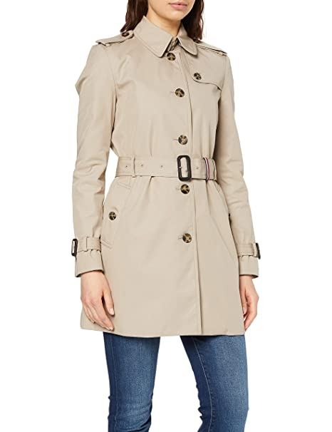 promo code 1fc33 2bb99 Tommy Hilfiger Heritage Single Breasted Trench Cappotto ...