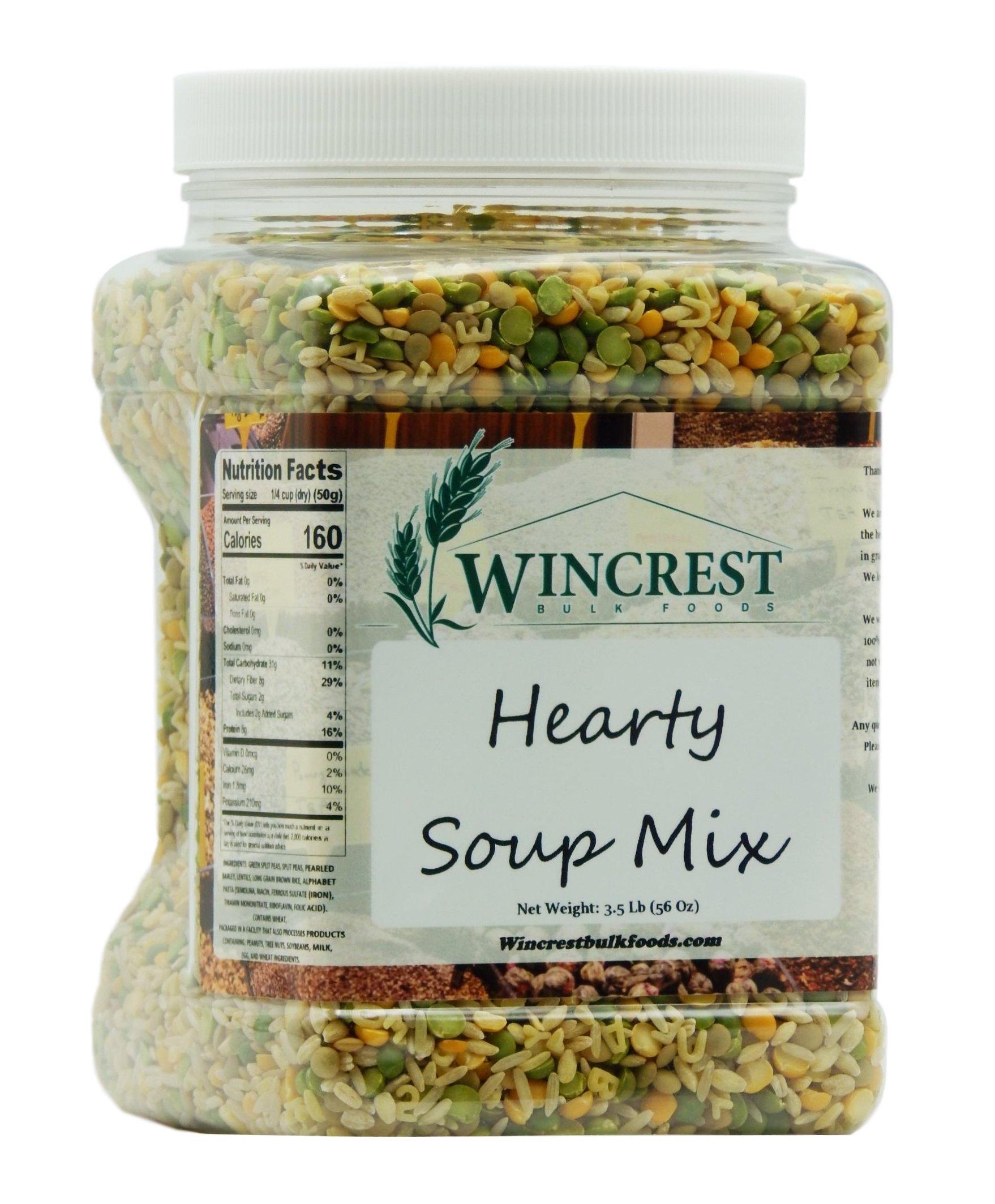 Hearty Soup Mix - 3.5 Lb (56 Oz) Tub