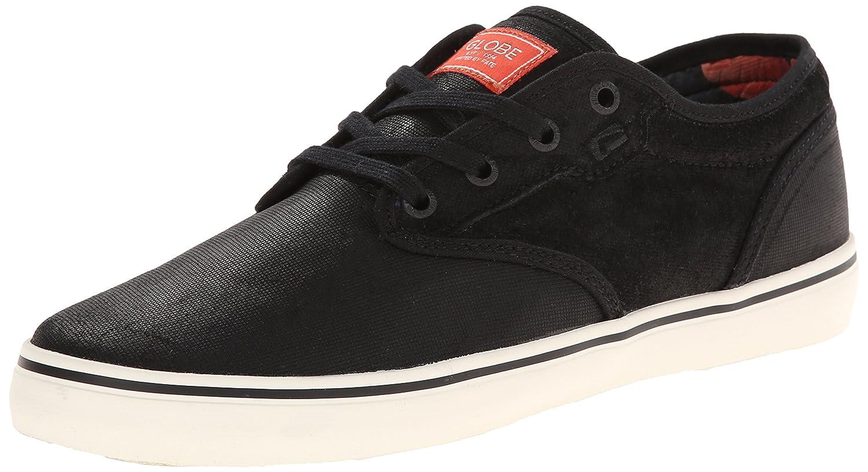 Globe Men's Motley Skate Shoe B00LO93KQ2 7 D(M) US|Black/Hibiscus