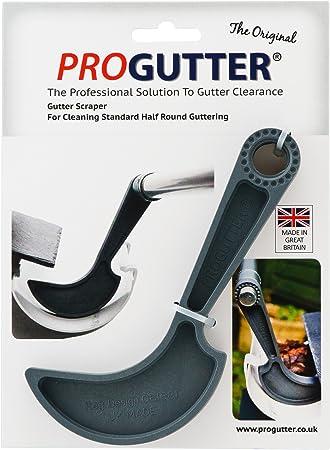 New Progutter Half Round Gutter Cleaning Scraper Amazon Co Uk Diy Tools