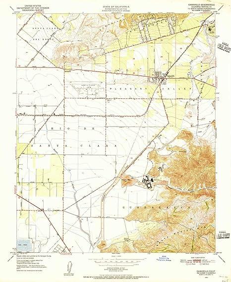 Amazon.com : YellowMaps Camarillo CA topo map, 1:24000 Scale ... on los angeles map, westlake village map, chualar map, point hueneme map, 1000 palms map, burney map, hope ranch map, auberry map, thousand oaks map, casmalia map, cedar ridge map, oxnard map, saticoy map, hayfork map, fish camp map, saddleback valley map, lower lake map, camp nelson map, ventura county map, covina hills map,