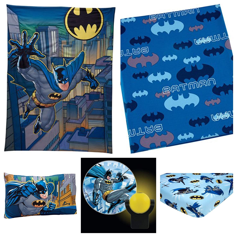 Batman 5 Piece Toddler Bedding Set