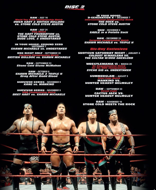 WWE: 1997 - Dawn of the Attitude Blu-ray Reino Unido: Amazon ...