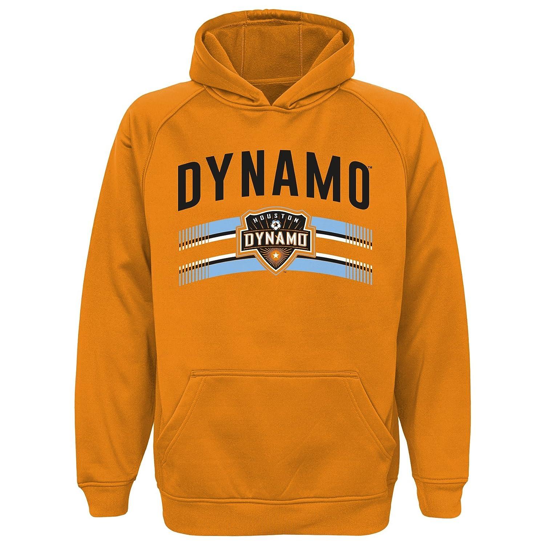 Outerstuff Houston Dynamo MLS Team Logo Performance Pullover Hoodie Fleece Youth S-XL