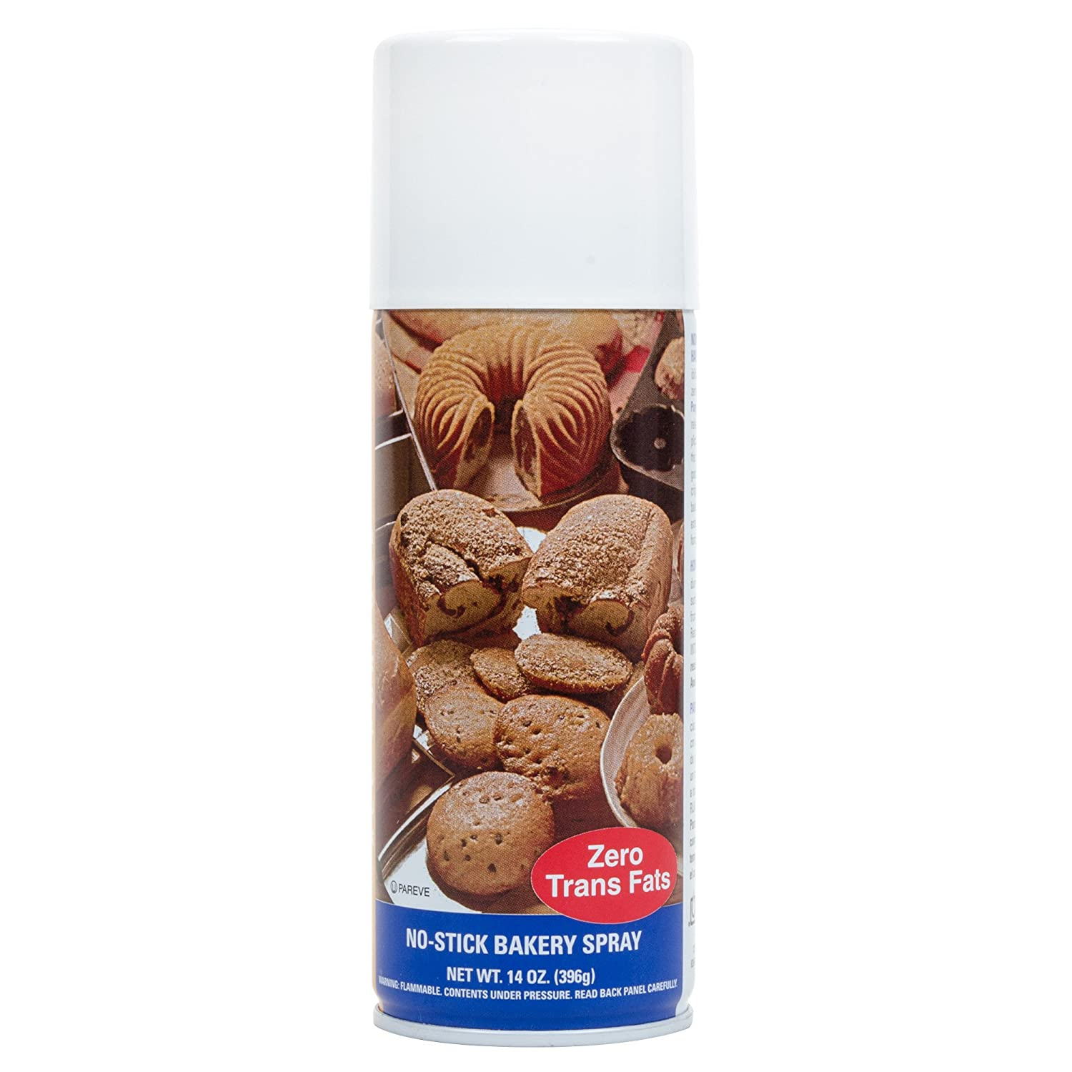 Bak-Klene ZT All Purpose Release Spray - Bakers Joy Baking Spray, Grill Nonstick Spray for Cooking, Pan Oil Spray, High Heat Cooking Spray to Keep Food Prom Sticking to Your Pans, 14oz, pack of 3