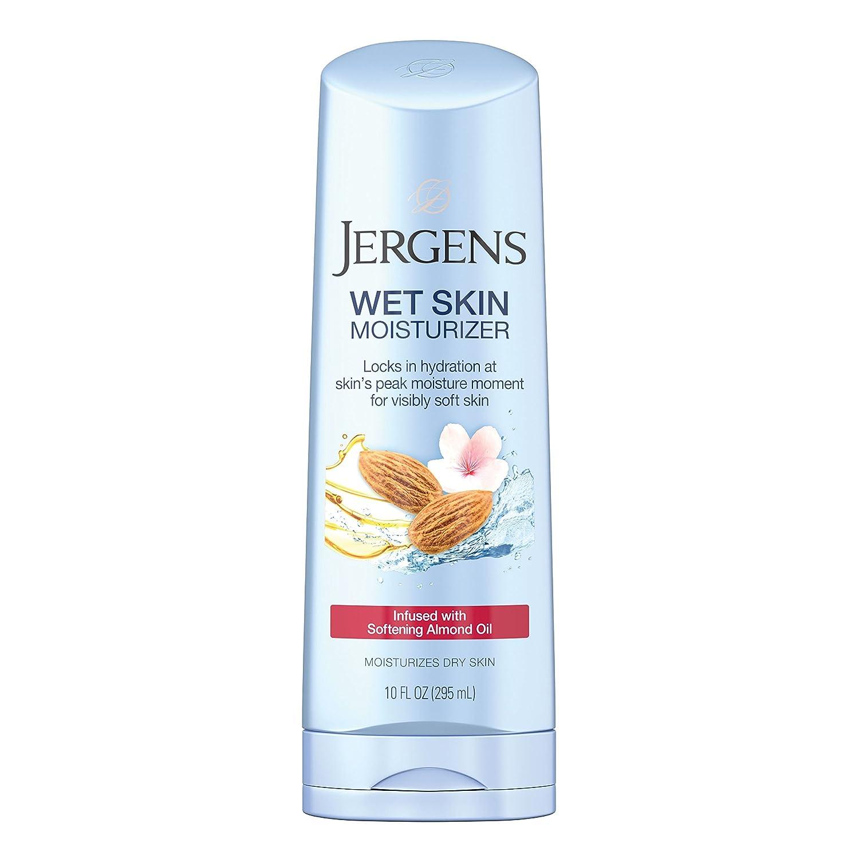 Jergens Wet Skin Cherry Almond Oil Moisturizer, 10 Fl Oz (Pack of 1)