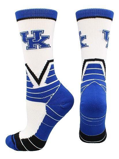 3829e42e48c Amazon.com   TCK University of Kentucky Wildcats Victory Crew Socks ...