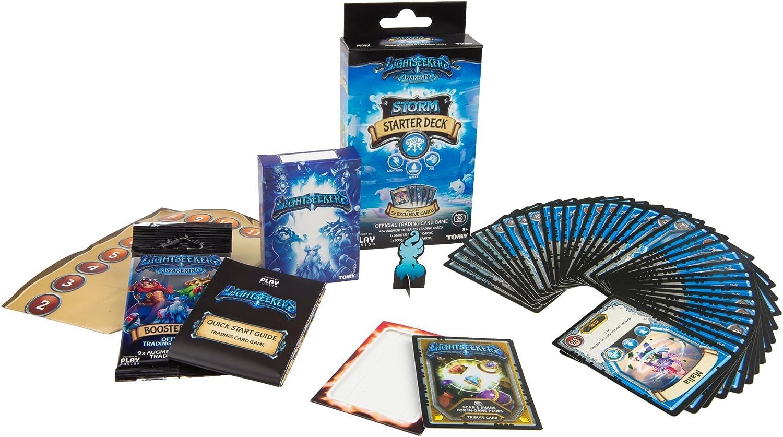 TOMY Juego de Cartas Light Seekers Starter Deck TCG TOML71401, de la Marca: Amazon.es: Juguetes y juegos