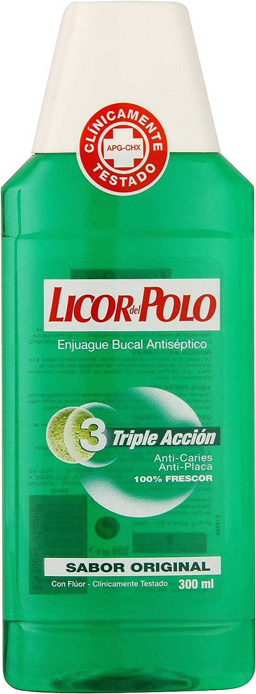 Licor Del Polo Triple Action Washmouth 300 ml: Amazon.es: Salud y ...