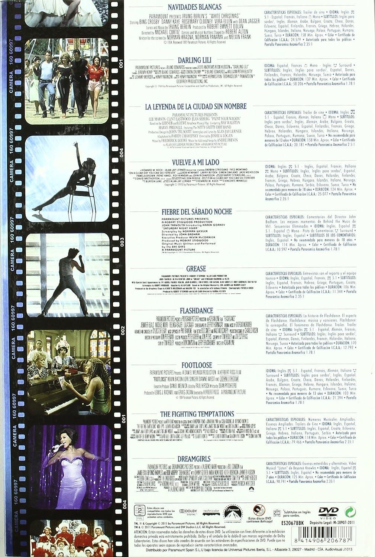 PACK EL MUSICAL - PARTE 2 [DVD]: Amazon.es: Barbra Streisand, Bing Crosby, Danny Kaye, Eddie Murphy, Jennifer Beals, John Travolta, Julie Andrews, ...