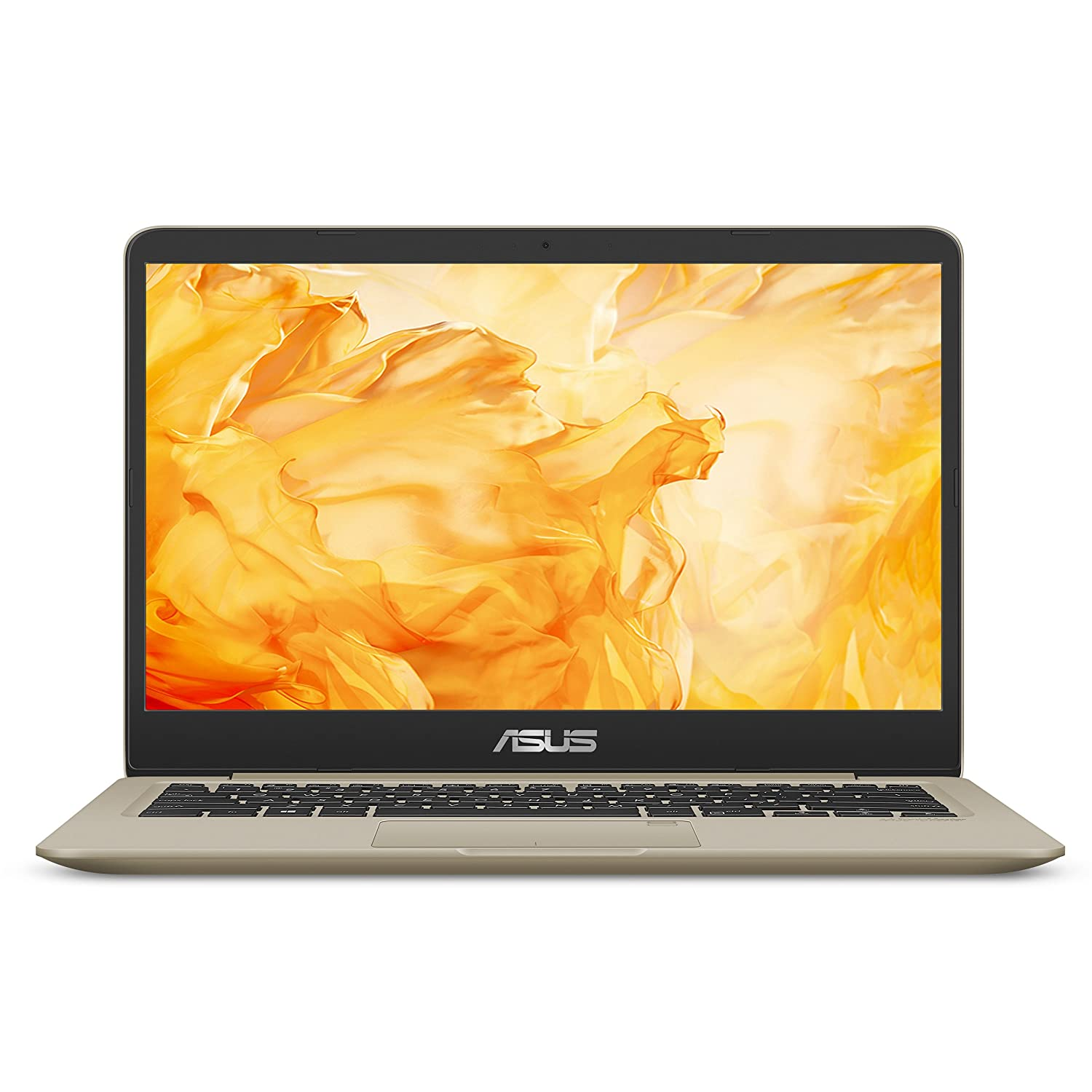 ASUS VivoBook S Thin & Light Laptop, 14″ FHD, Intel Core i7-8550U, 8GB RAM, 256GB SSD, GeForce MX150, NanoEdge Display, Backlit Kbd, FP Sensor – S410UN-NS74